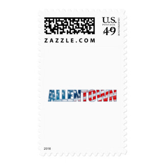 Allentown Postage Stamp