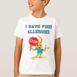 Aller Bunny StopBunny Food Allergies T-Shirt 2