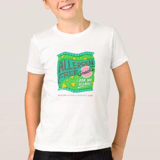 """Allergen-Free Snacks For Me, Please"" T-Shirt"