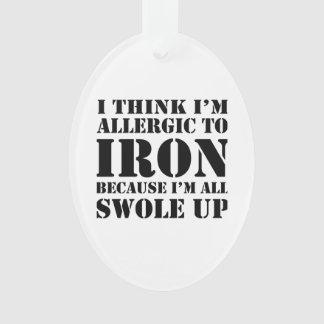Allergic to Iron