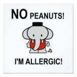 Allergic to Peanuts Announcements