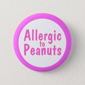 Allergic to peanuts button