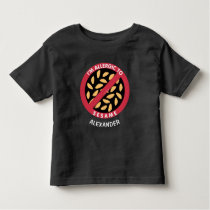 Allergic To Sesame Seeds Allergy Personalized Kids Toddler T-shirt