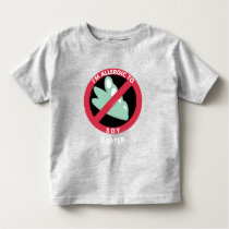 Allergic To Soy Beans Kids Allergy Personalized Toddler T-shirt
