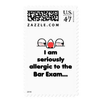 Allergic to the Bar Exam Postage