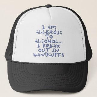 allergic trucker hat