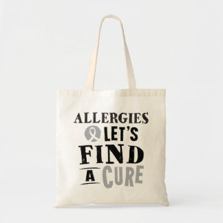 Allergies Lets Find A Cure Tote bag