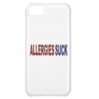 Allergies Suck Cover For iPhone 5C