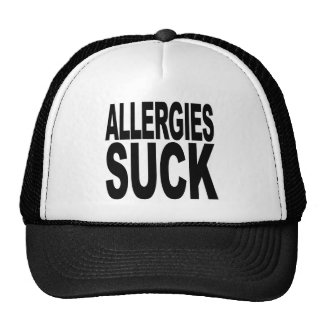 Allergies Suck Hat