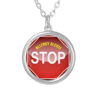 ALLERGY ALERT - add custom text! Necklaces