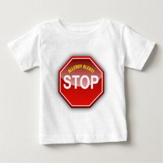 ALLERGY ALERT - add custom text! Shirt