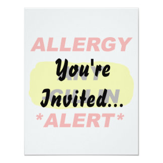Allergy Alert cillin derivitives Allergy Design Al Card