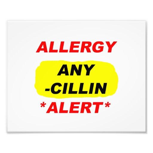 Allergy Alert cillin derivitives Allergy Design Al Photograph