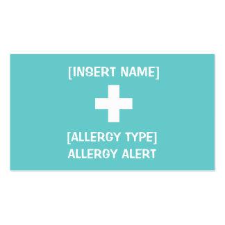 Allergy Alert ID & ICE Card