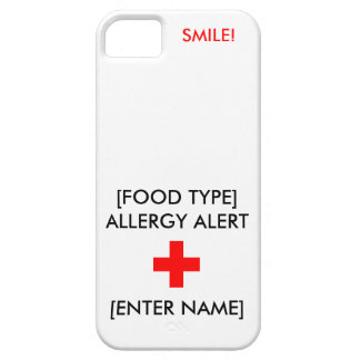Allergy Alert iPhone Case