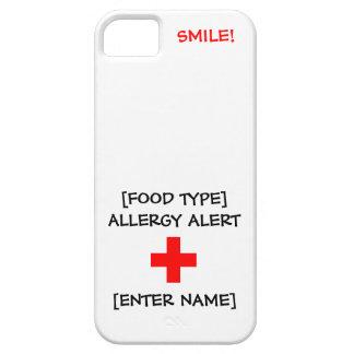 Allergy Alert iPhone Case iPhone 5 Case