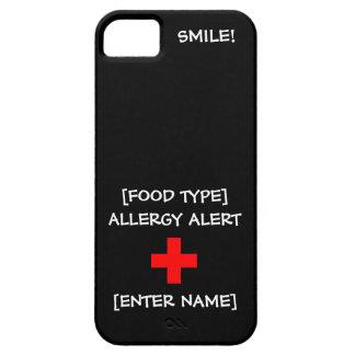 Allergy Alert iPhone Case iPhone 5 Cases