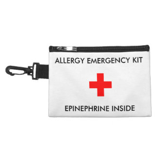 Allergy Emergency, Epi Inside Pouch Accessories Bags