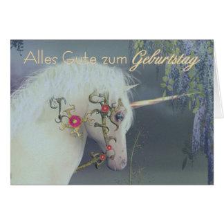 Alles Gute zum Geburtstag - German Happy Birthday Card