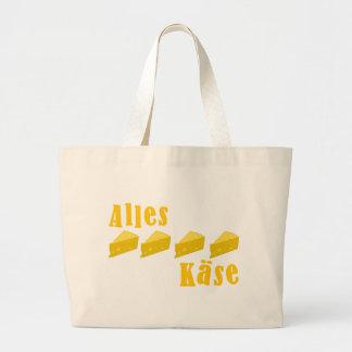 Alles Käse Canvas Bag