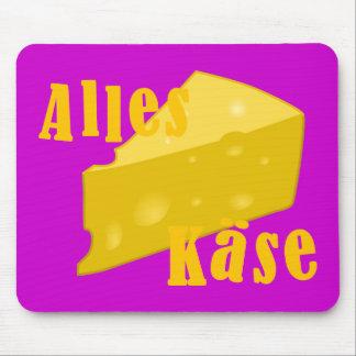 Alles Käse Mouse Pad