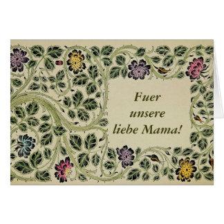Alles Liebe zum Muttertag Card
