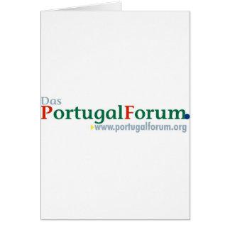 Alles zum PortugalForum Greeting Card