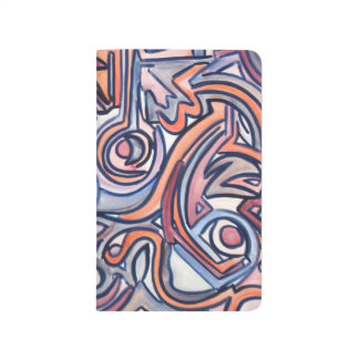 Alley Cat - Abstract Art Handpainted Journal