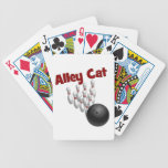 Alley Cat Bicycle Playing Cards