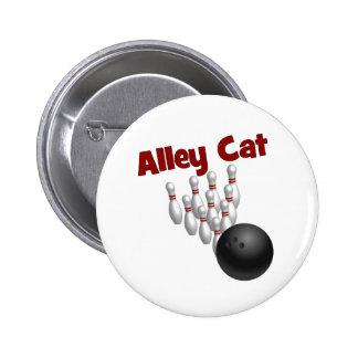 Alley Cat 2 Inch Round Button