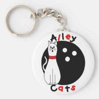 Alley Cat Keychain