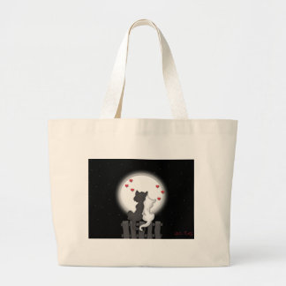 Alley Cat Love Large Tote Bag