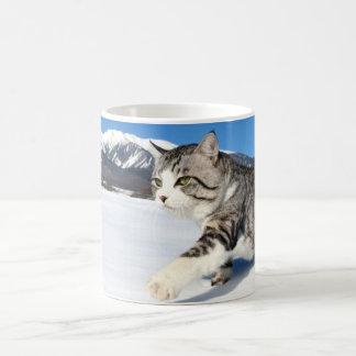 Alley cat niyan good fortune< Yukio cat > Coffee Mug