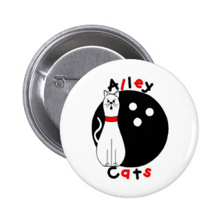 Alley Cat Pinback Button