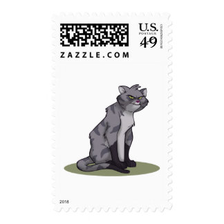 Alley Cat Postage Stamp