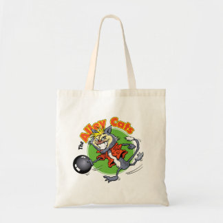 Alley Cats Bowling Tote Bag