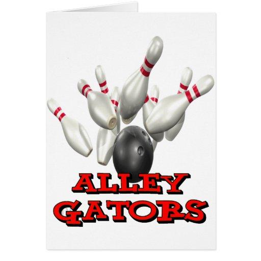 Alley Gators Card