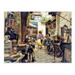 Alley in Hong Kong China Postcard