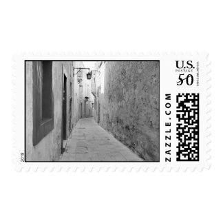 Alley in Malta Postage