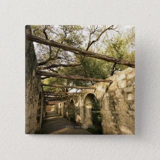 Alley in San Antonio, Texas Button