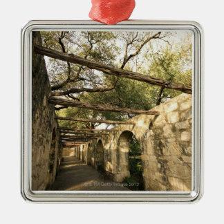 Alley in San Antonio, Texas Ornaments