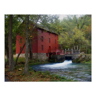 Alley Mill 1 Print