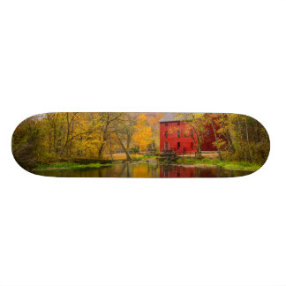 Alley Mill And Spring Skateboard Deck