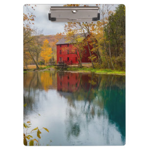Alley Mill Autumn Clipboard