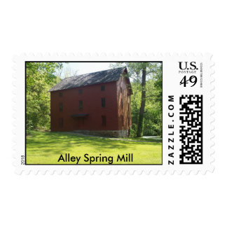 Alley Spring Mill Stamp