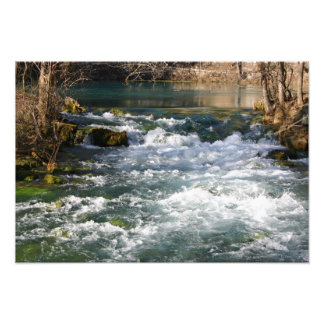 Alley Springs, MO Wintertime Spring Water Photo Art