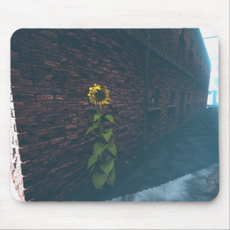 Alley SunFlower Mouse Pad