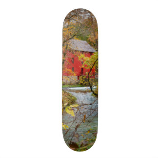 Alley Through The Woods Skateboard