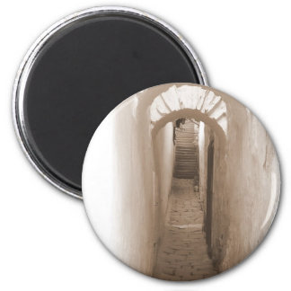Alley to the light refrigerator magnets