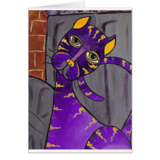 AlleyCatpurp Card